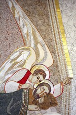 Jožefove sanje, Rupnik, mozaik v kapeli pri sestrah usmiljenkah na Reki